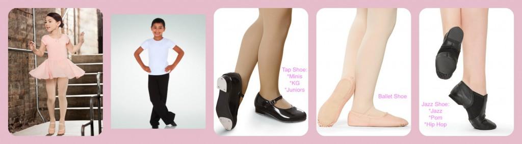 Juniors Dance Shoes Tap Ballet Jazz