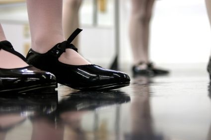 ... Tap Shoes – Black w/ buckles or elastics Take out the ribbons