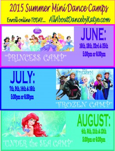 2015 Mini Dance Camps